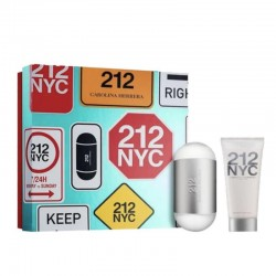 Set 212 edt 100 + body lotion
